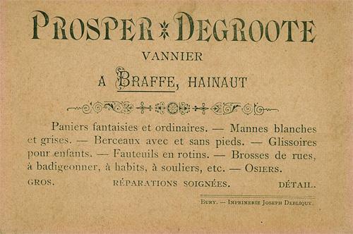 Rotin en France et Belgique